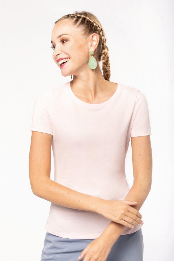 T-shirt Bio col rond femme REM DISTRIBUTION